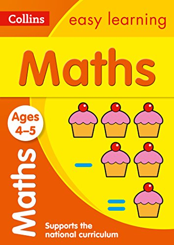 Maths Ages: Ages 4-5 (Collins Easy Learning Preschool) ()