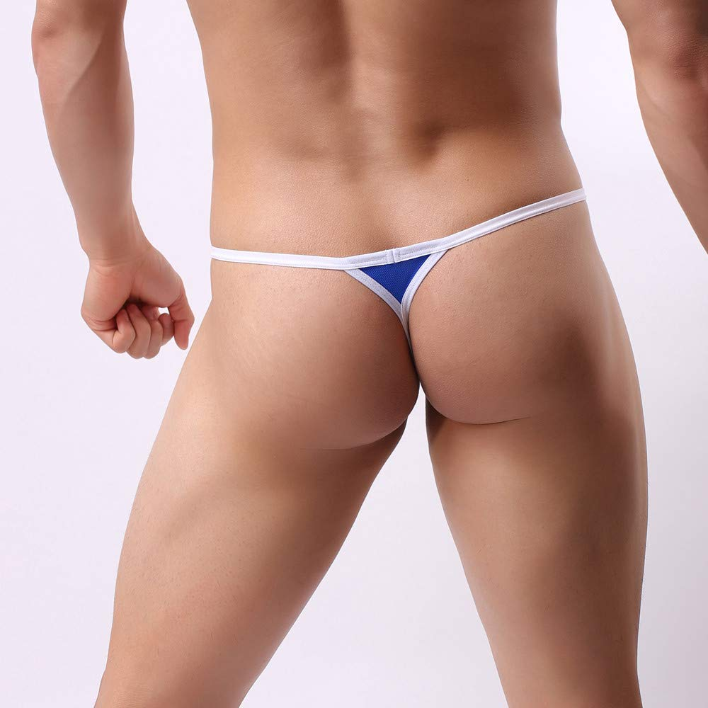 e1eba307ab20 Amazon.com : Men's Pouch G-String Underwear Big Package Y-Back Panties  Breathable Bulge Thong Classic Jockstrap for Youth (Gray, L) : Grocery &  Gourmet Food