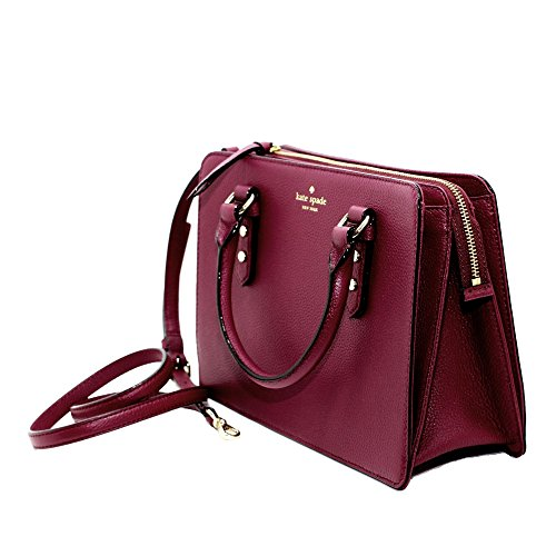 Kate Spade New York Lise Mulberry Street Satchel Crossbody Pebble (Mulberry Leather Collection)