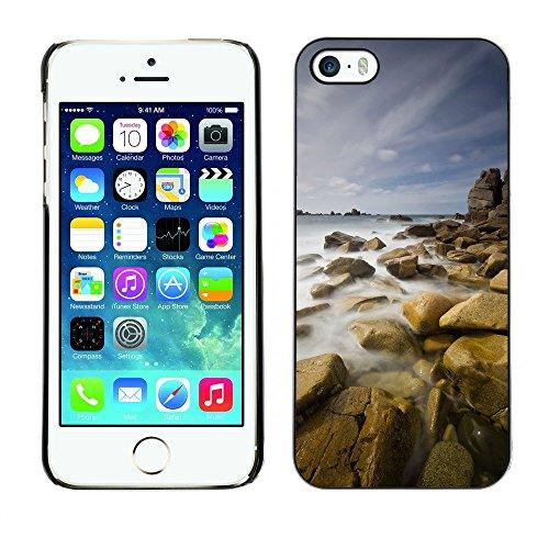 Hülle Case Schutzhülle Cover Premium Case // F00003847 Natur // Apple iPhone 5 5S 5G