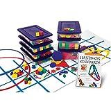 Learning Resources Hands-On Standards Handbook & Manipulative Kit Bundle: Grades PreK-K