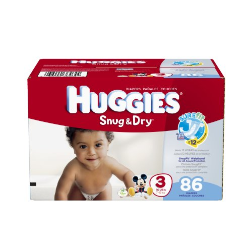 Huggies Snug Diapers Pack Count