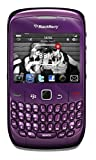 Blackberry 8520 Curve Unlocked Phone with 2 MP Digital Camera, QWERTY Keyboard, Trackpad Navigation, Bluetooth Enabled with Stereo Profile - US Warranty - Purple