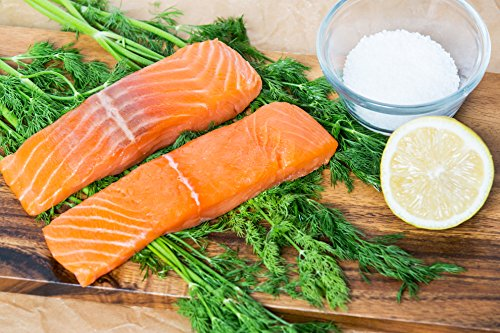 Greensbury Market - 12 (6 oz) Fresh Atlantic Salmon Filets - Boneless; Skinless; Sustainably Raised