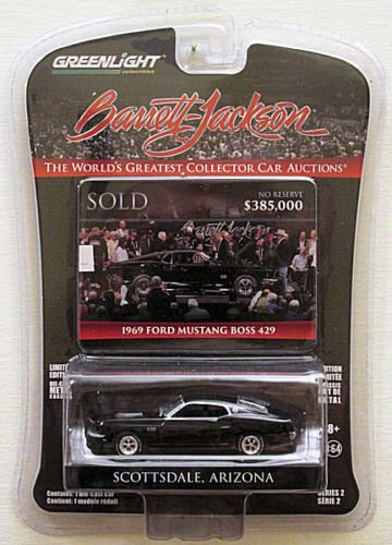 Greenlight Barrett Jackson Limited Edition - 1969 Ford Mustang Boss 429 -