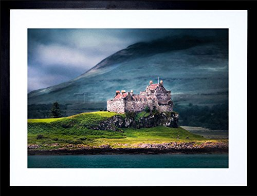 9x7 '' DUART CASTLE SCOTLAND ISLE MULL FRAMED ART PRINT PICTURE PHOTO F97X292