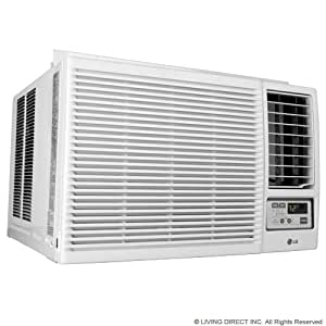 Lg window air conditioner 18000 btu heat cool for 18000 btu window air conditioners