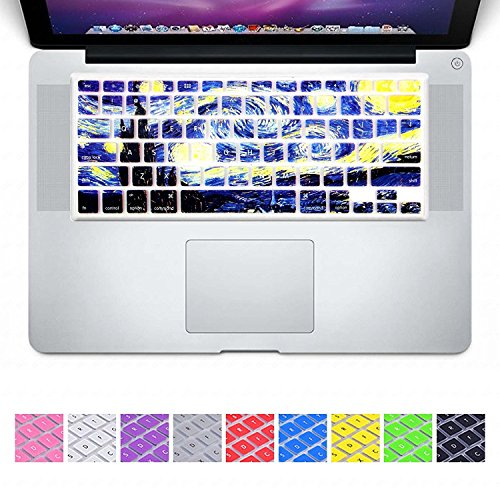 DHZ ULTRA Thin Keyboard Cover Silicone Skin for MacBook Air 13 and MacBook Pro 13