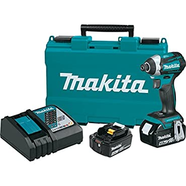 Makita XDT14M 18V LXT Cordless 3 Speed Brushless 1/4 Impact Driver Drill Tool Kit