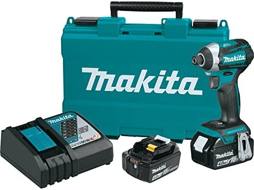 Makita XDT14M 18V LXT Lithium-Ion Brushless Cordless Quick-Shift Mode 3-Speed Impact Driver Kit 4.0Ah , Discontinued by Manufacturer