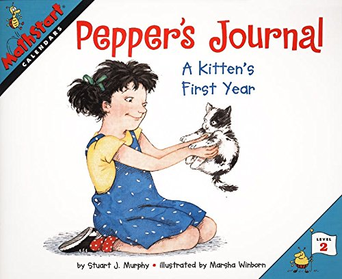 (Pepper's Journal: A Kitten's First Year (MathStart 2))