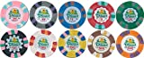 Poker Chips 500 Dunes Commemorative 10g Casino Style Chips Custom Set