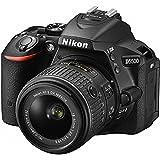 Nikon D5500 24.2 MP DSLR Camera With 3.2-Inch LCD 18-55 mm VR DX Lens (Black)(Certified Refurbished)