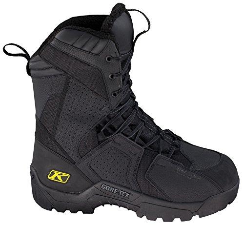 Snowmobile Snocross Men's Klim Boots GTX 8 Size Black Arctic nHqtAIU