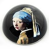 Vermeer - Paperweight - Girl with Pearl Earring (1665)