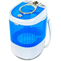 KUPPET Mini Portable Washing Machine for Compact Laundry, 7.7lbs Capacity, Small Semi-Automatic Compact Washer with…