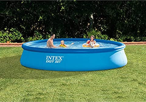 Intex Inflatable Ring Easy Set Above-Ground Family Lounge Swimming Pool with Filter Pump - Seahawk 200 Inflatable Boat