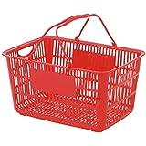 ショッピングバスケット U-33 レッド/62-6380-20