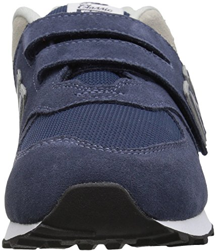 Pictures of New Balance Boy's 574v1 Essentials Hook IV574GV Navy/Grey 6