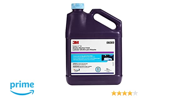 Amazon.com: 3M 06069 Perfect-It Ultrafine Machine Polish - 1 Gallon: Automotive