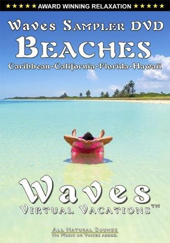 Waves Sampler VIdeo Beaches: Caribbean, California, Florida, ()