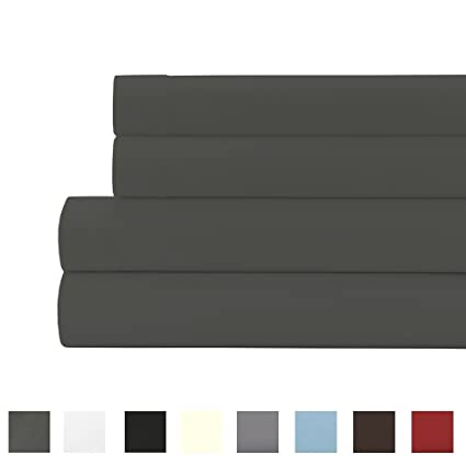 Expanded Queen Sheet Set 800 Thread Count 100% Egyptian Cotton 21 Inches  EXTRA DEEP POCKET