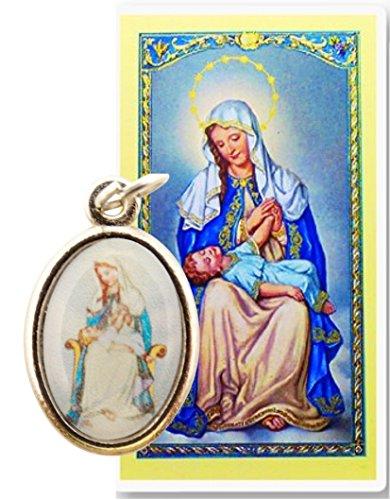 La Divina Providencia Nuestra Senora De Medalla De Plata Incluye Postal De Rezo Gratis