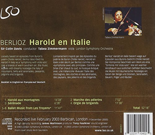 Berlioz: Harold en Italie (Harold in Italy) by LSO Live (Image #1)