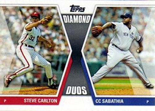 2011 Topps Diamond Duos Series 1#DD-CS Steve Carlton/CC Sabathia NM-MT