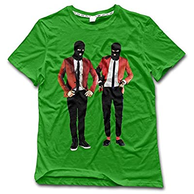 NDZZZ Man Customized Humor Twenty-one-Pilots Cotton Shirt for Training XX-Large KellyGreen