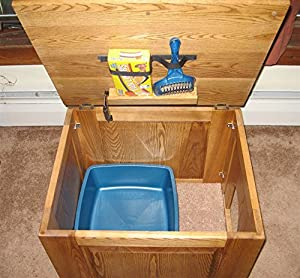 Cat Litter Concealment Cabinet (Raised)