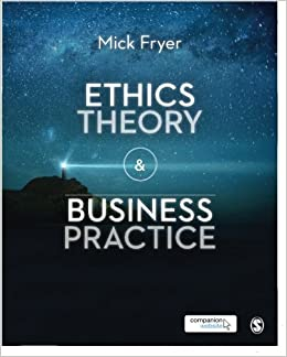 Book Ethics Theory and Business Practice by Mick Fryer (2014-12-12)