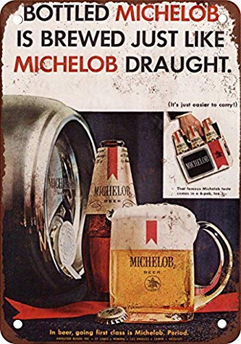 "1967 Michelob Beer Vintage Retro Metal Sign 8/"" x 12/"""