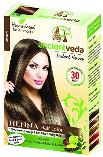 Amazon Com Ancient Veda Henna Hair Color Brown 60 G 2 11 Oz