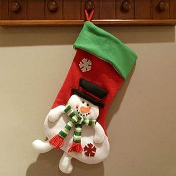 QZHE Media de navidad Para Decoraciones Navideñas Bolsas ...