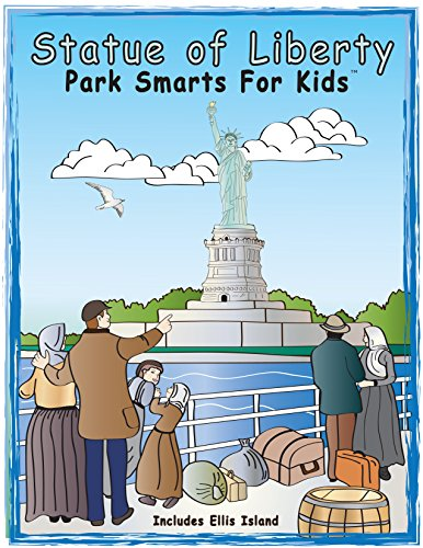 Park Smarts For Kids Activity Books Set - (2 Pack) Statue of Liberty National Park and National Park Service Centennial (Inexpensive Gifts For Large Groups)