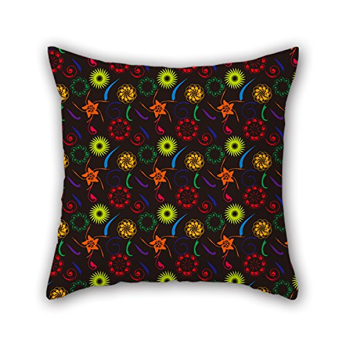 PILLO Flower Pillow Cases 20 X 20 Inches / 50 By 50 Cm Gift Or Decor For Adults,girls,chair,indoor,boy Friend,kids Boys - Both Sides