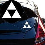 zelda decal sticker - Zelda Triforce Vinyl Decal Sticker for Car Window, Laptop and More. # 922 (4