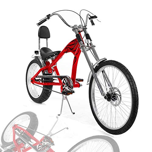 (LIDAUTO Bicicleta Fat Bicycle Snowmobile Fat Tire 20in 24