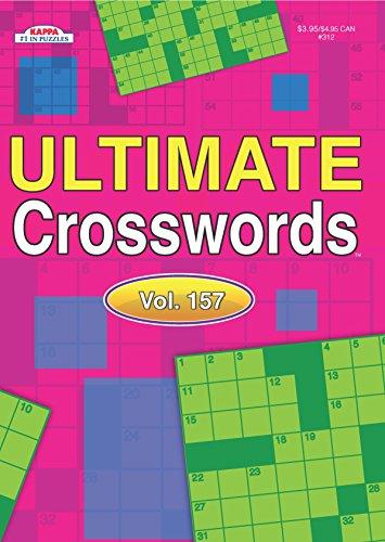 Ultimate Crosswords Puzzle Book-Volume 157
