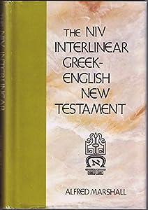 The Interlinear Greek-English New    book