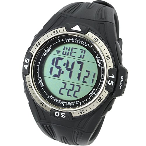 LAD-WEATHER-Swiss-Sensor-Snorkeling-Watch-Diving-Depth-Measurement-water-temperature-Sport