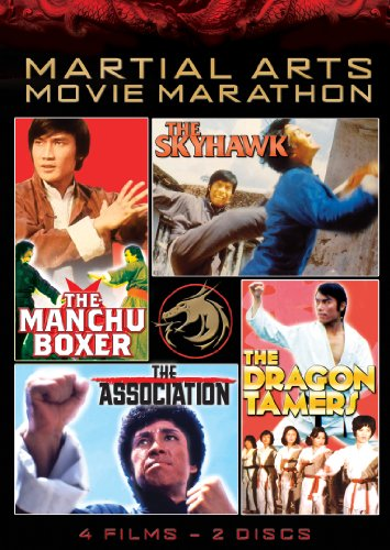 Martial Arts Movie Marathon (The Skyhawk, The Manchu Boxer, The Dragon Tamers & The Association) by CINEDIGM - UNI DIST CORP