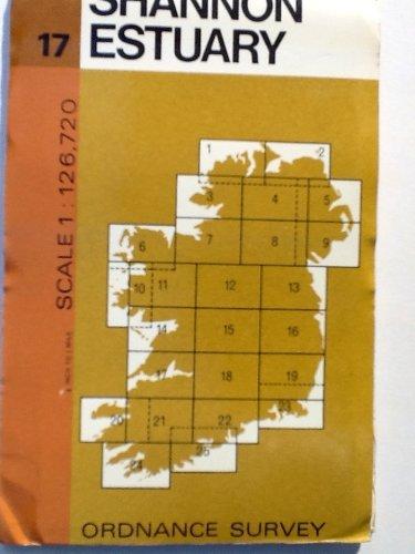 Irish Map: Shannon Estuary and Donegal Sheet 17 (Irish half-inch scale map series)