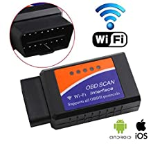 UniLink (TM) ELM327 WIFI Interface OBD2 OBD 2 WiFi Wireless Car Auto Diagnostic Scan Tool Code Reader for iPhone iPad iOS PC & Android Symbian WP system