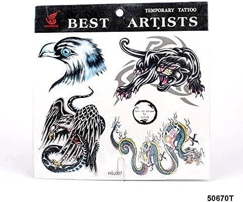 grandes tatuajes Águila cabeza, PUMA, dragón chino y águila con ...