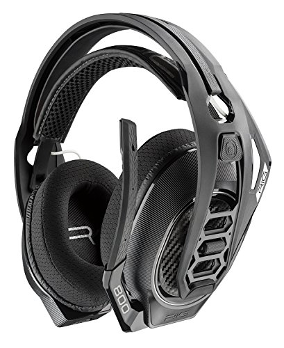 Plantronics Gaming Headset, RIG 800LX Wireless Gaming Headset for Xbox One with prepaid Dolby Atmos Activation Code ()