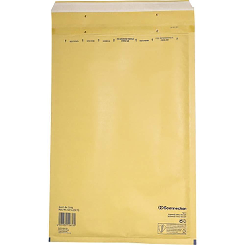 Soennecken Luftpolstertasche 2341 Gr/ö/ße J6 braun 50 St.Pack 2341