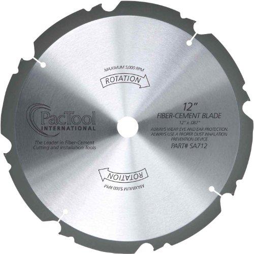 PacTool International SA710 10-Inch Fiber Cement Saw Blade ()