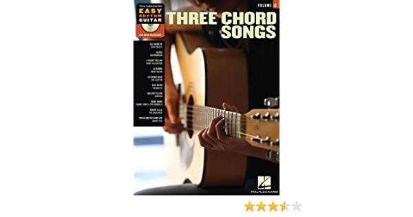 Three Chord Songs With CD Audio Easy Rhythm Guitar: Amazon.es: Hal ...